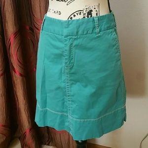 Merona Turquoise Short Skirt - Size 12